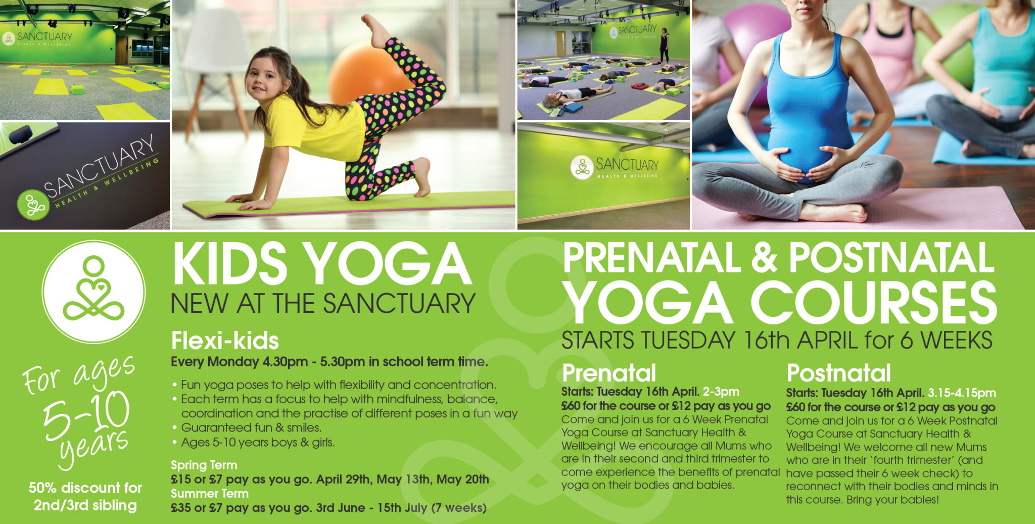 Prenatal & Postnatal and Kids Yoga Courses